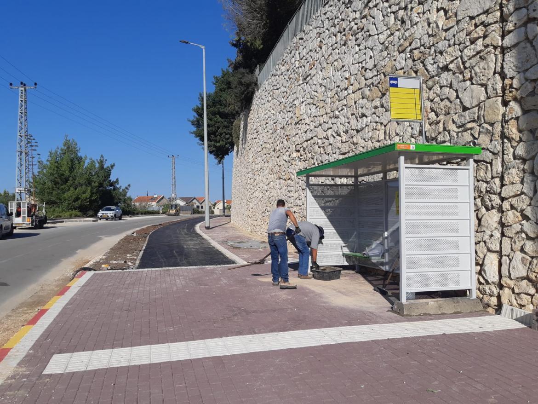 עשרות תחנות אוטובוס חדשות בנוף הגליל