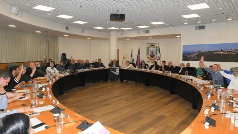 פה אחד: מועצת עיריית נוף הגליל אישרה את תקציב העירייה לשנת 2020