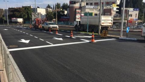 עיריית נוף הגליל סיימה סבב נוסף של פרויקטים לשיפור תשתיות הכבישים